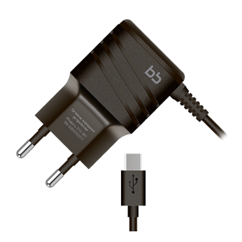 Travel charger microUSB 013-001 2A