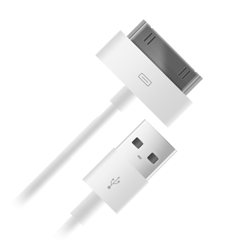 Data Cable 004-001 USB-s30pin for Apple 1m